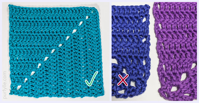 Mitred Square Crochet Pattern With Gap Free Edges