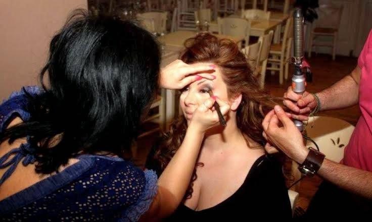 Ευδοκία: Στα backstages της φωτογράφισης για το νυχτερινό comeback της! [photos]