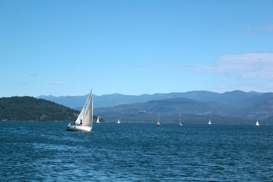 Lake Pend Oreille Sailing