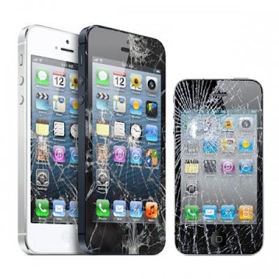 Màn hình của Iphone 4 rất dễ vỡ