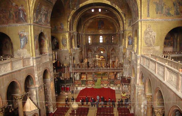 Basílica de São Marcos em Veneza na Itália