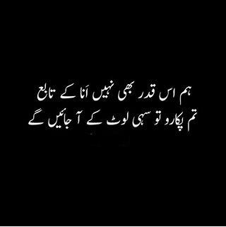 Hum iss qadar bhi nahi Anaa kay Tabaay | Sad Urdu Poetry - Urdu Poetry Lovers