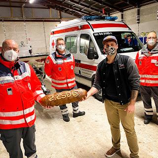 November Spende der Bäckerei Ihr guter Liebig aus Pfungstadt an den DRK Ortsverband Riedstadt-Stockstadt