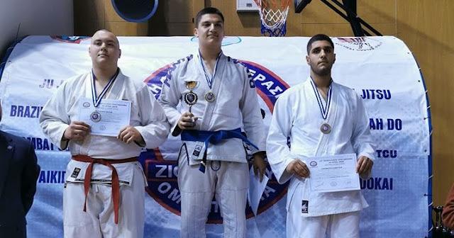 1η και 2η θέση για αθλητή του Α.Σ. ΦΟΡΟΝΕΥΣ Άργους στο 19ο Πανελλήνιο Πρωτάθλημα JU-JITSU