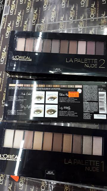 L'Oreal La Palette Nude 1 & 2 www.modenmakeup.com