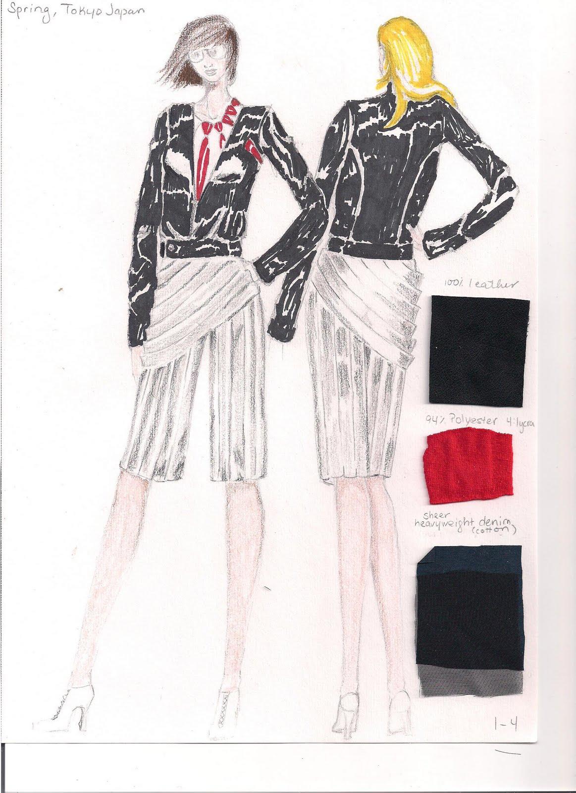 Fit Fashion Student Portfolio Full Portfolio