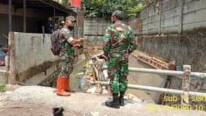 Kolonel Eppy Gustiawan, Kunjungi Pembangunan Kolam Retensi Gedebage