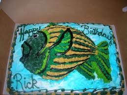 Birthday Cake Pictures Fishing Cakes Men