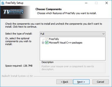 freetelly for windows 7