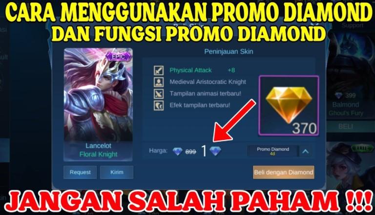 Cara Menggunakan 515 Promo Diamond ML