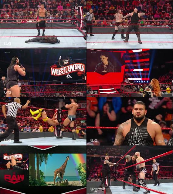 WWE Monday Night Raw 17th February 2020 720p HDTV