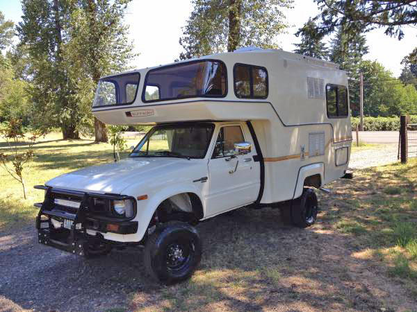 Used RVs 1982 Toyota Sunrader 4x4 Turbo Diesel For Sale by Owner