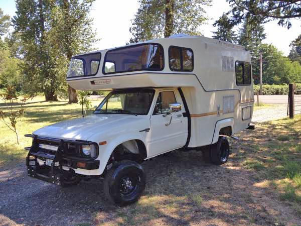 used rvs 1982 toyota sunrader 4x4 turbo diesel for sale by owner. Black Bedroom Furniture Sets. Home Design Ideas