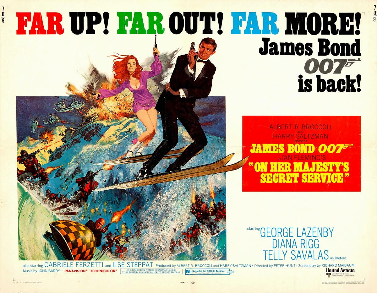 Resultado de imagen de on her majesty's secret service