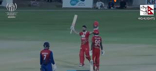 Oman vs Nepal 38th Match ICC CWCL2 2021 Highlights