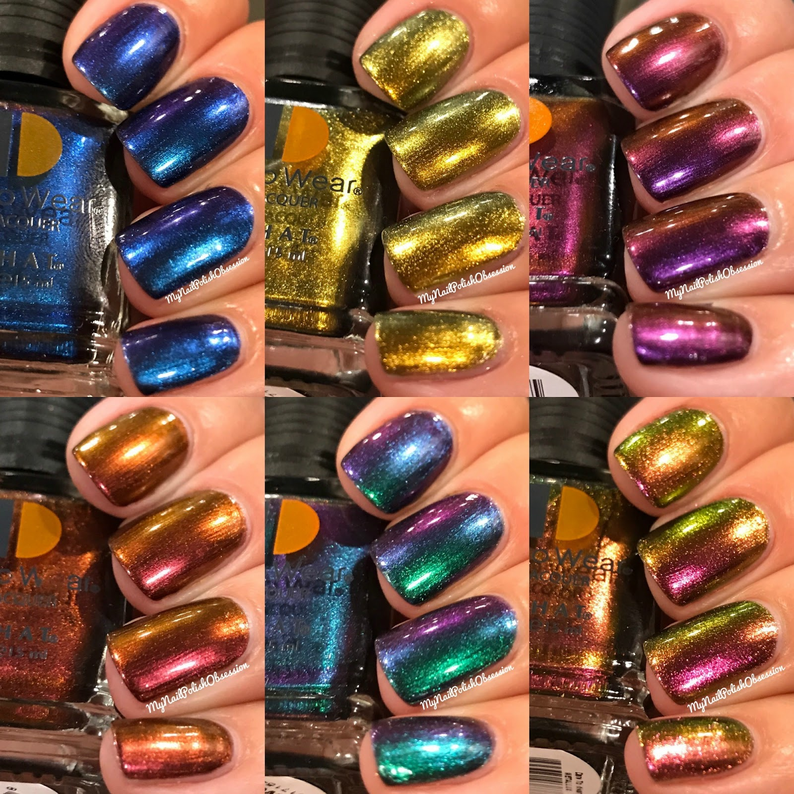 My Nail Polish Obsession: LeChat Dare to Wear; Metallux Collection