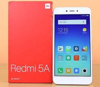 Cara restart Hp Xiaomi Redmi 5A