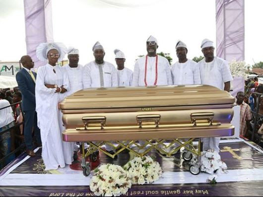 Photos from the burial of Dino Melaye's Mother in Kogi State