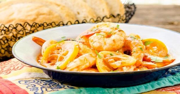 Lemony Barbecue Shrimp Recipe