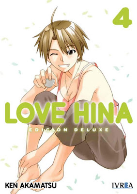 "Manga: Review de ""Love Hina"" Vol. 4 de Ken Akamatsu - Editorial Ivrea"