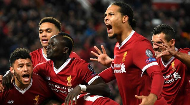 Video Cuplikan Gol Liverpool 3-0 Mancester City | Leg 1 babak 8 Besar Liga Champions