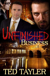 Unfinished Business - thriller by Ted Tayler book promotion