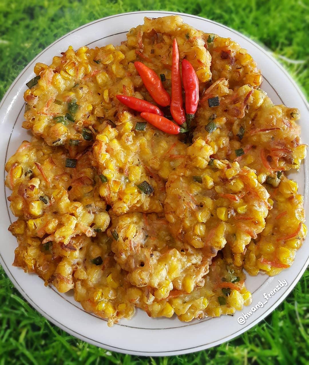 resep bakwan jagung enak dan renyah Resep Indonesia CaraBiasa.com