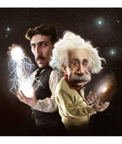 Nikola Tesla vs Einstein