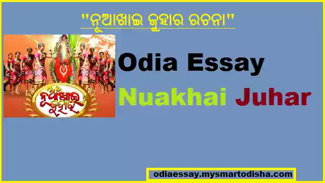 Nuakhai Essay in Odia