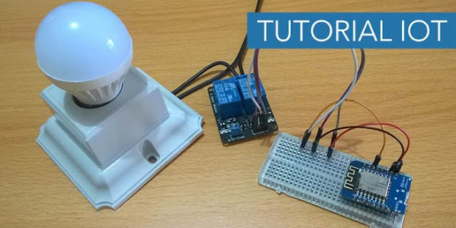 Tutorial Menyalakan dan Mematikan Lampu dan monitoring suhu Via Internet Menggunakan Wemos ESP8266