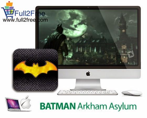 Mac Game : Batman Arkham Asylum v1.0.2 For MacOsX