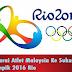 Senarai Atlet Malaysia Ke Sukan Olimpik 2016 Rio