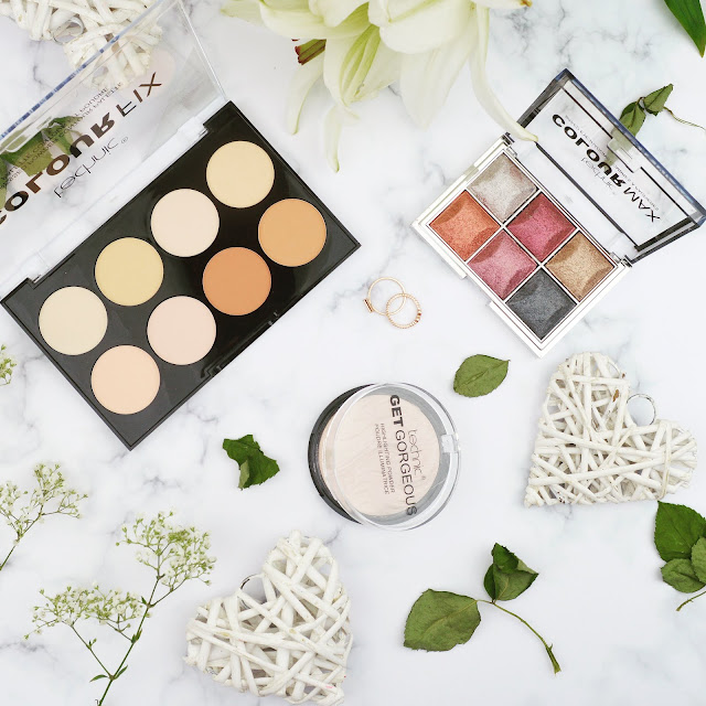 Lovelaughslipstick Blog - Review of Technic Cosmetics Beauty Makeup Products Baked Eyeshadow Palette Pressed Powder Contouring Palette and Highlighter