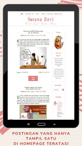 Postingan  Hanya Tampil Satu di Homepage Blogger  Blogspot Teratasi