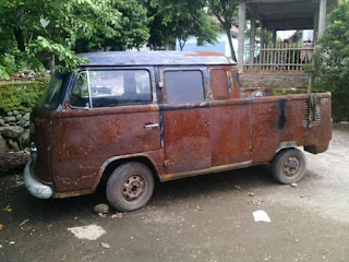 Jual body kombi double cabin