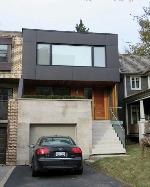 Minimalist House with Garage Ground Floor