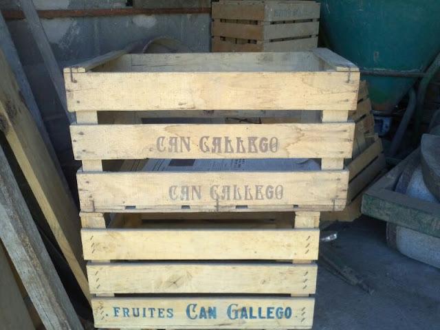 CÓMO decorar con viejas cajas de fruta