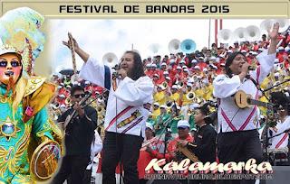 Kalamarka en el Festival de bandas