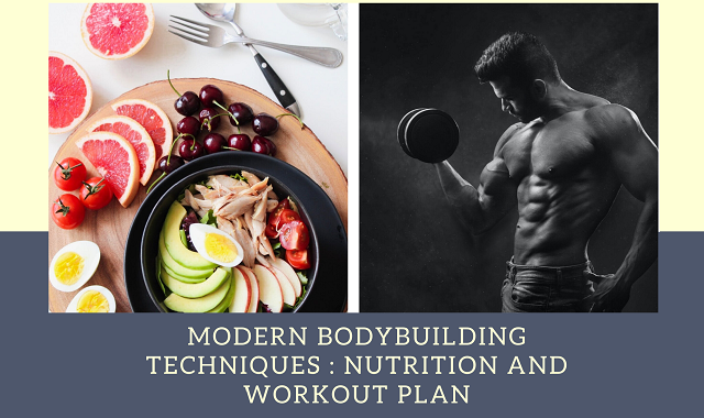 Modern Bodybuilding Techniques : Nutrition and Workout Plan