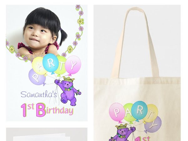 Designer Spotlight : Kati from Anuradesignstudio - First Birthday Princess Bears Collection