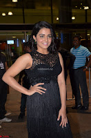 Wamiqa Gabbi in a sleeveless Black Designer Transparent Gown at 64th Jio Filmfare Awards South ~  Exclusive 042.JPG