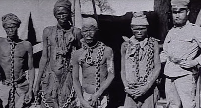 Herero prisoners of war, around 1900