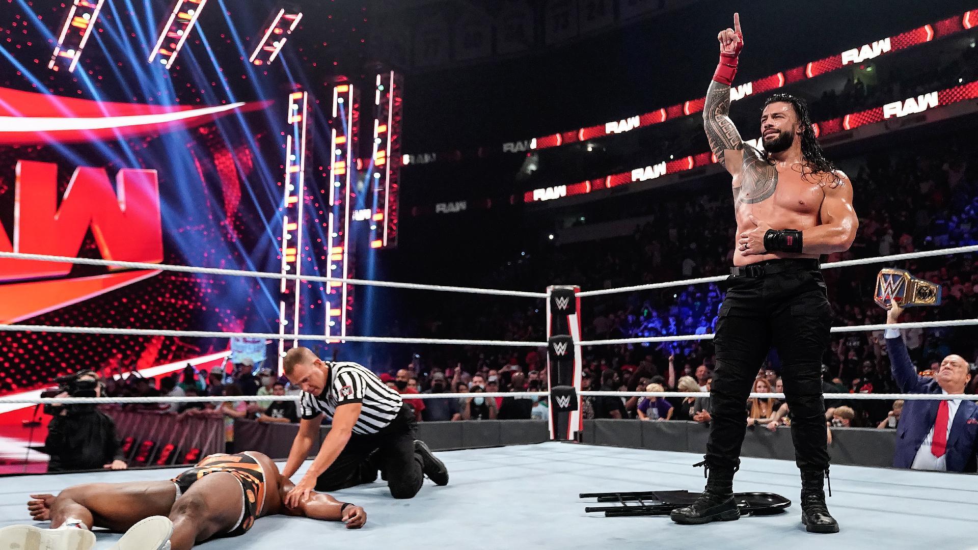 WWE alterou os planos para o evento principal do RAW