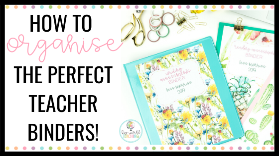 This is a graphic of Teacher Binder Printables with teacher daily planner