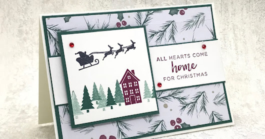 Hearts Come home Facebook live #simplestamping