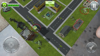 Game perang tank Augmented reality