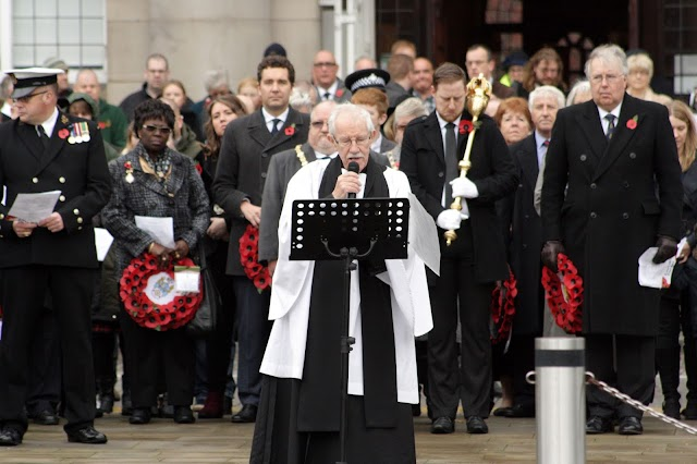 Council News: Crewe Remembrance Service 2018