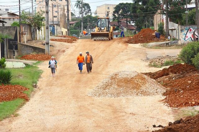 Prefeitura investe mais de R$ 2 milhões em asfalto na última semana
