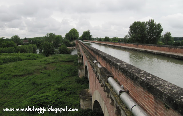 Puente-Canal del Cacor, Moissac