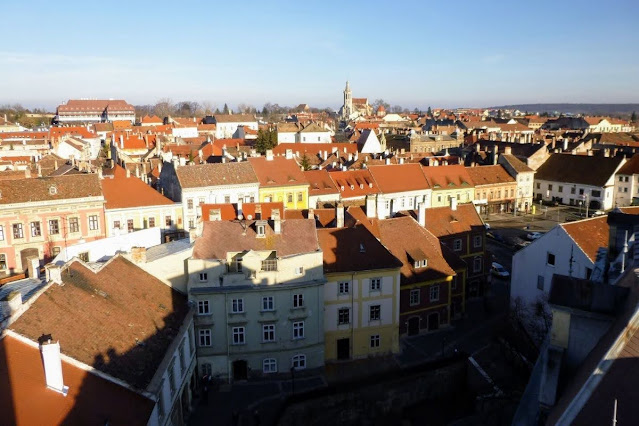 Day trip from Vienna in December: View of Sopron Hungary